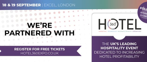 Hotel360, 18th & 19th of September 2019 – Excel, London